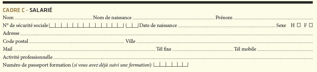 bulletin d'inscription formation continue iperia cadre c