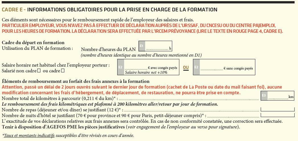 bulletin d'inscription formation continue iperia cadre e