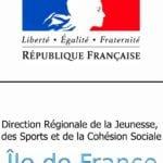 Logo DRJSCS Ile-de-France