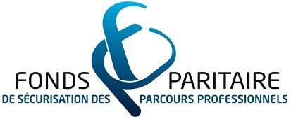 Logo Fonds paritaire de sécurisation des parcours professionnels
