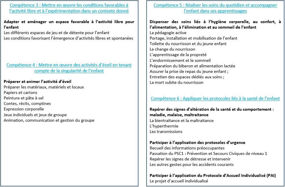 CAP AEPE - Programme EP1 (partie 2)