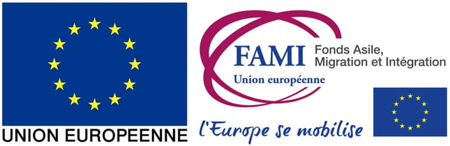 Fonds asile migration intégration logo